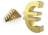 Gold Rises as ECB Forecasts Weakness