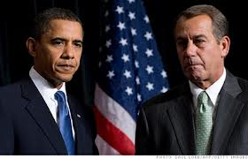 Obama - Boehner Fiscal Cliff meeting