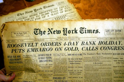 The Gold Confiscation Of April 5, 1933