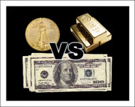 Investors may Return to Gold from Stocks as Markets Tumble & Dollar Crashes