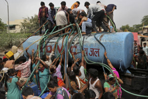 Water Shortage at New Delhi