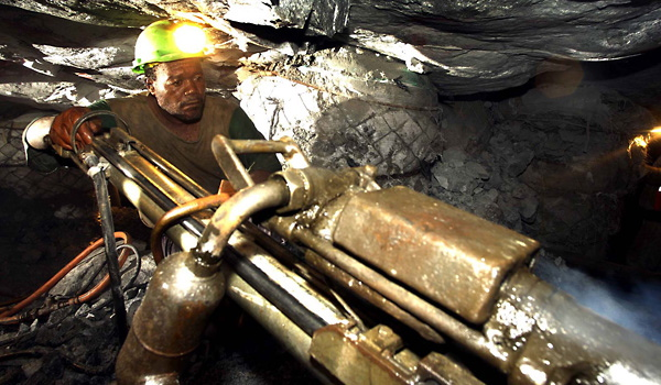 South African Gold Mining Strikes As Peak Gold Production Collapse Continues