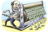 Central Banks Will Print Money Until You Go Blind …