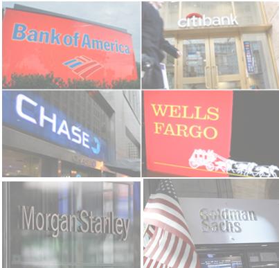 6 Financial Monsters - TBTF Banks Got Bigger After Destroying Economy