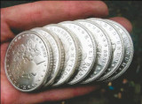 Silver Bullion Coin Sales Rose to Record High in 2013