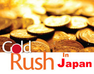 Gold Rush by Investors in Japan as Tax Rise Looms