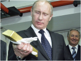 Russia Raises Gold Holdings By 7.247 Tonnes To Over 1,040 Tonnes In Feb