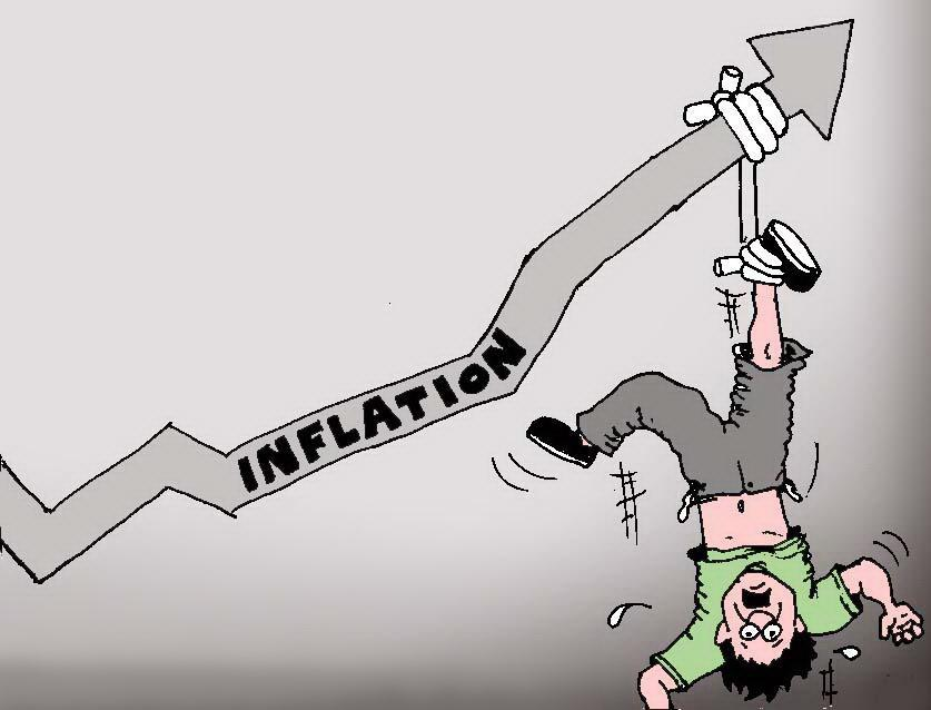 The Bear's Lair: Where's the link to Inflation broken?