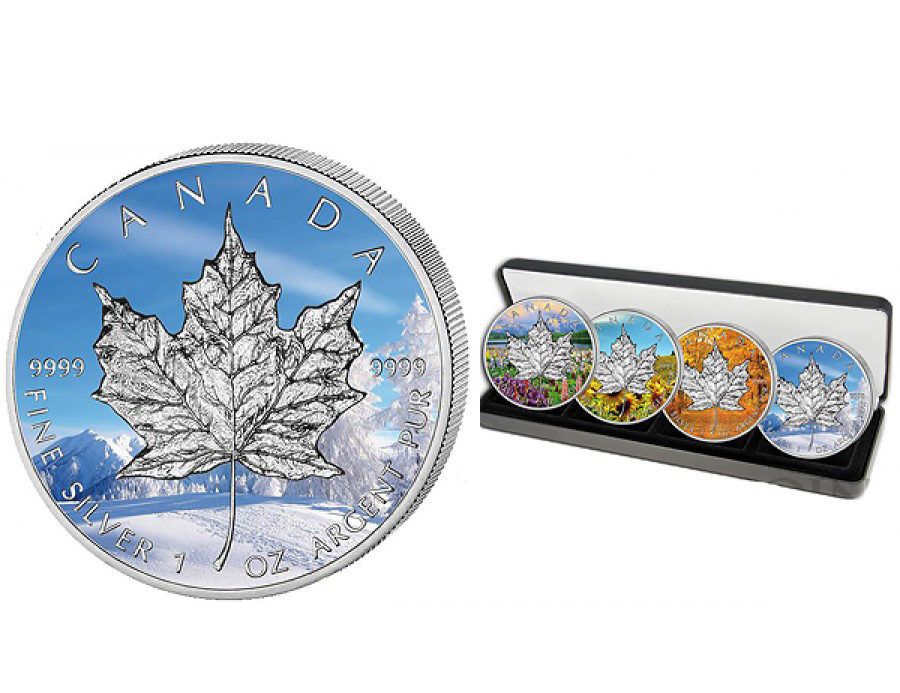 Canadian Maple Leaf Silver Coin Sales Up A Hefty 24% in Q1