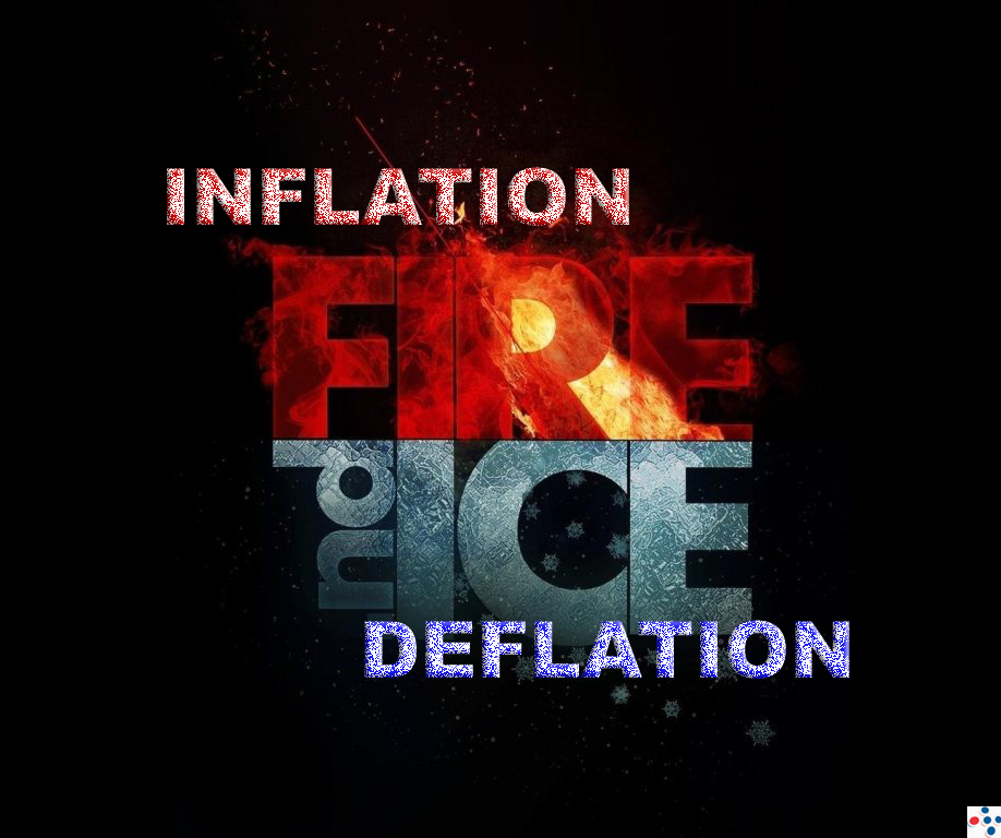It turns out you can have BOTH - Inflation and Deflation