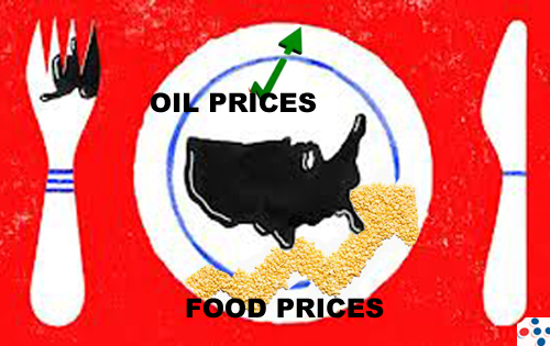 Why Are Food Prices so High? Because We're Eating Oil