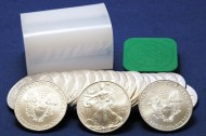 Gold Jumps 1.8%, Silver Eagle Bullion Coins Top 27M