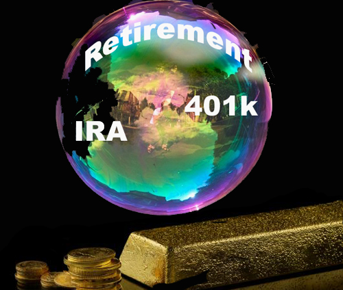 U.S. Retirement Asset Bubble vs Physical Gold Investment