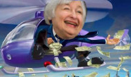 'Helicopter Yellen' Sends Stocks, Gold, Silver Soaring