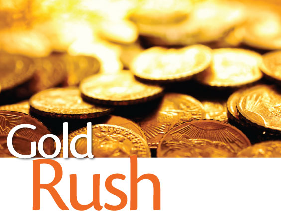 The Coming Gold Rush: There's A Lot Less Gold In The World