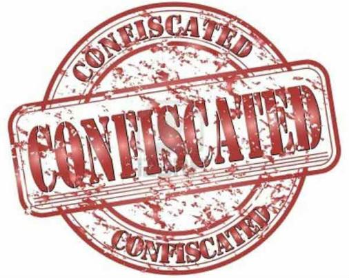 confiscate க்கான பட முடிவு