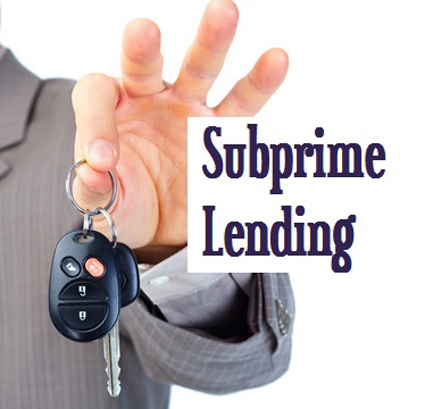 Don't Look Now, But The Subprime Auto Bubble May Be Bursting
