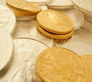 US Mint Gold And Silver Bullion Coin Sales