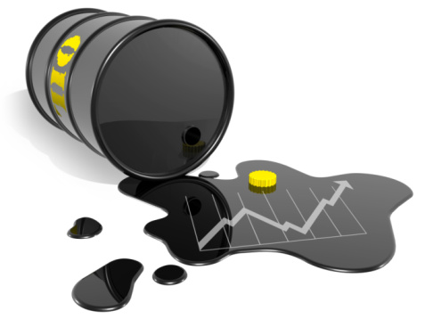 Oil prices extend gains on dollar-slide, talk of oil producer meeting