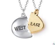 The Two Different Worlds of Gold and Silver: East and West