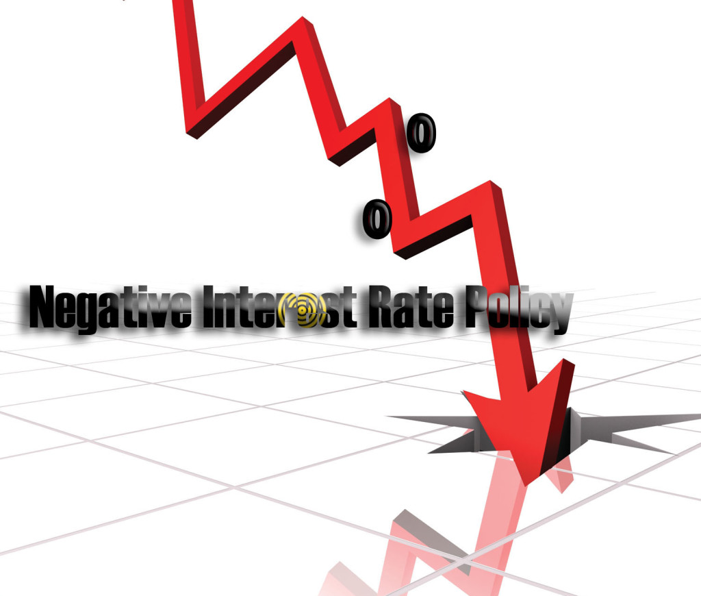 Negative Interest Rates: Causes, Consequences and Ramifications