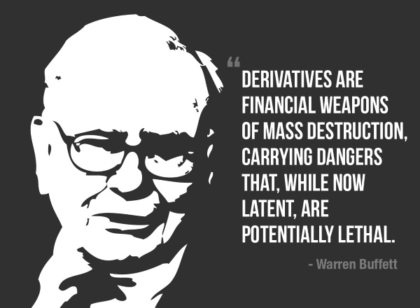 GOLD - The Only Saviour from the Dangers of Derivatives