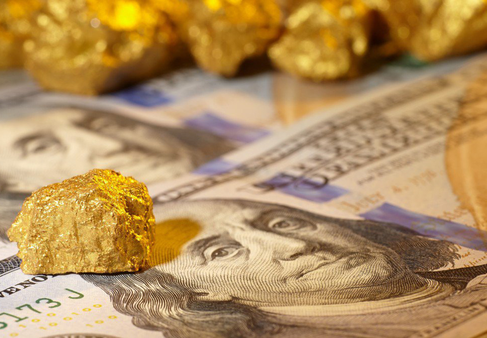 Here's How The Dollar Breakdown Could Propel Gold Prices To New Highs