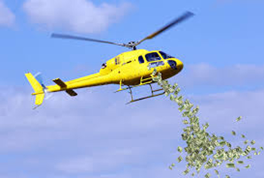 Helicopter Money Tested And Failed Spectacularly, Surprising Only Economists