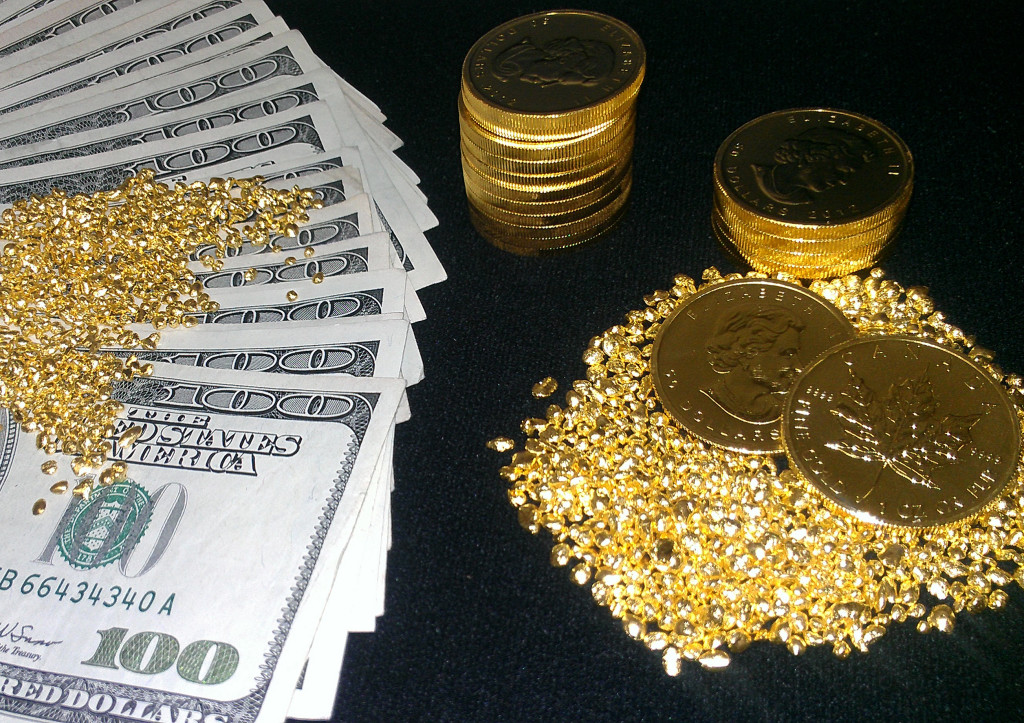 The War on Cash Is Still Good for Gold Prices