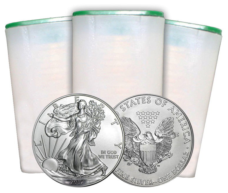 The 2017 American Eagle Silver Bullion Coins struck at 3 Facilities