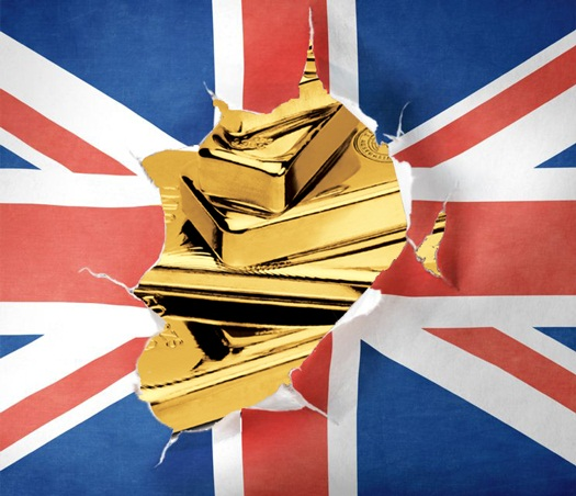British Assets play second Fiddle to Gold on Geopolitical Fears