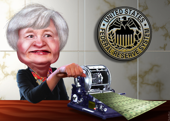 Yellen Succeeds in bringing Asset Price Inflation - Result of this Success to be Feared