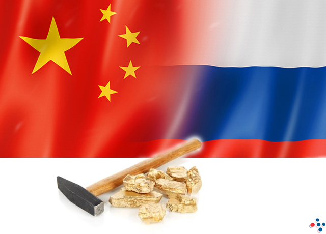 Petrodollar Dumpers - Russia & China Dominate Global Gold Production