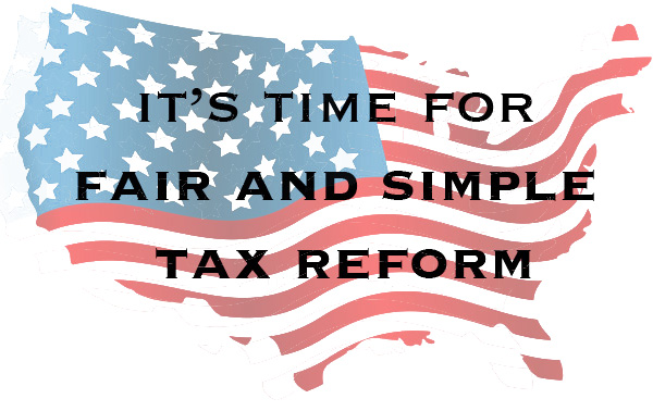 Tax Reform is really just a Scam Against the American People